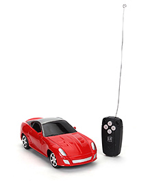 Remote Controlled Toy Car - Red And Grey