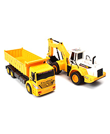 Construction Vehicle Toy - Yellow