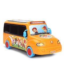 Bus Model Musical Toy - Orange