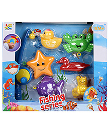 Fishing Series Baby Toys - Multicolor