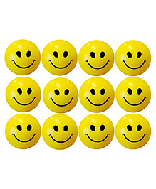 A2B Smiley Face Squeeze Stress Balls - Yellow