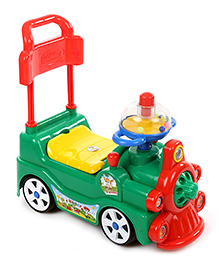 Kids Zone Funny Loco Ride On - Green