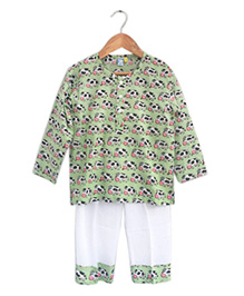 Frangipani Kids Nightwear Set - Multicolour