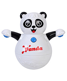 Kumar Roly Poly Animal World Tumbler Panda Toy - White