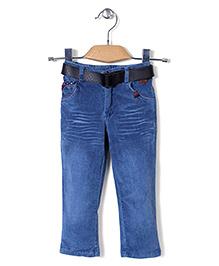 Noddy Original Clothing Jeans With Belt - Blue