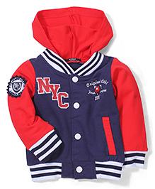 Noddy Original Clothing Hooded Sweat Jacket - Navy