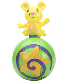Mitashi Skykidz Cow Roly Poly Musical Ball - Green