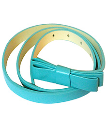 D'chica Sassy Bow Belt - Blue