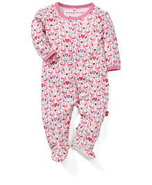 Magnificent Baby Printed Romper - Pink