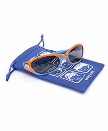 Doraemon Kids Sunglasses With Pouch - Orange Blue