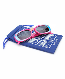 Barbie Kids Sunglasses With Pouch - Pink