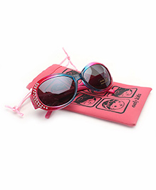Barbie Kids Sunglasses With Pouch - Red