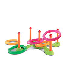 Happy Kids Real Action Ring Toss Set - Multi Color