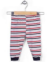 Ollypop Full Length Striped Leggings - Multi Color