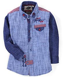 Chase 1998 Print Shirt - Blue