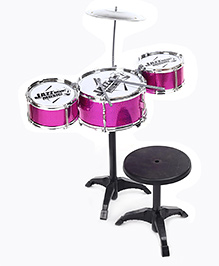 Rock Jazz Drum Set - Pink