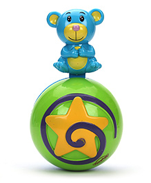 Mitashi Skykidz Mouse Roly Poly Musical Ball - Blue Green