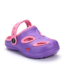 Cute Walk Clogs - Pink Purple