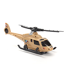 Armed Helicopter Toy - Grey