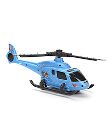 Armed Helicopter Toy - Blue