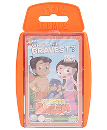 Top Trumps Chhota Bheem Super Deluxe Cards - Pack Of 33