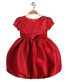 Lil Mantra Party Dress - Red