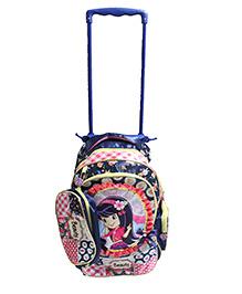 Gamme Cute Girls Kids Trolley Backpack Pink - H 15 cm