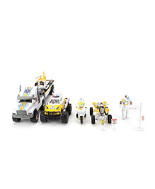Super Rescue Vehicle Toy Set