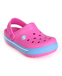 Crocs Clogs With Back Strap - Royal Blue