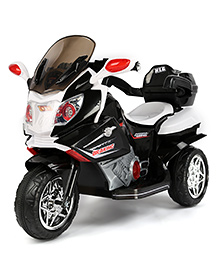 Marktech Motor Bike Battery Operated Ride On - White And Black