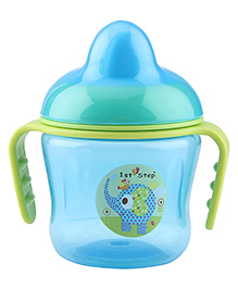 1st Step Two Handle Non Spill Sipper Cup - Blue