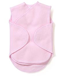Dear Tiny Baby Wrap Vest - Pink