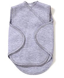 Dear Tiny Baby Wrap Vest - Grey