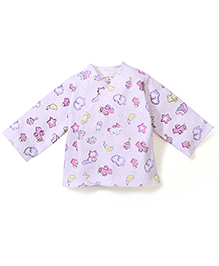 Dear Tiny Baby Long Sleeves Vest - Pink
