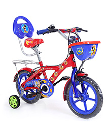 Hero Cycles Disney Micke Mouse Bicycle Red Blue - 14T