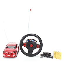 Fab And Funky Remote Controlled Car Toy - Red