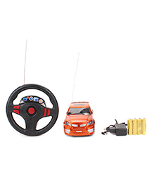 Fab And Funky Remote Controlled Car Toy - Orange
