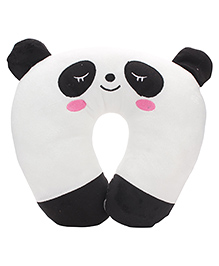 Back Neck Support Pillow - White And Black