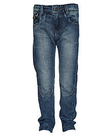 Tales & Stories Heavy Washed Jeans - Blue