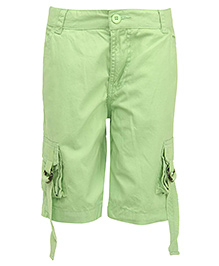 Bells and Whistles Bermuda Shorts - Green