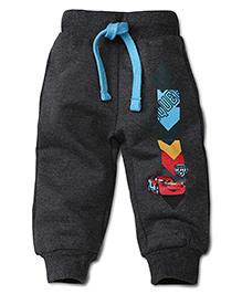 Disney by Babyhug McQueen 95 Print Track  Pant - Dark Gray