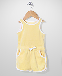 Mothercare Sleeveless Jumpsuit - Yellow