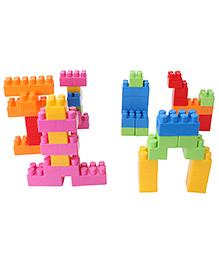 Ecoiffier A Brick Construction Set - 50 Pieces