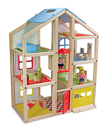 Melissa And Doug Hi Rise Doll House