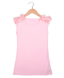 Superfie A Line Dress - Pink