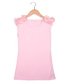 Superfie A Line Dress - Pink