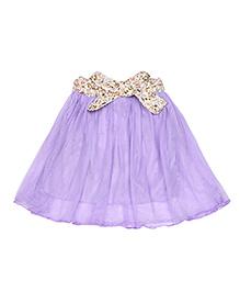 Superfie Flared Skirt - Purple