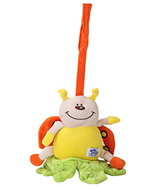 Simba Baby Pull String Soft Toy - Yellow