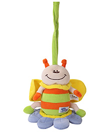 Simba Baby Pull String Soft Toy - Green