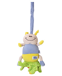 Simba Baby Pull String Soft Toy - Blue